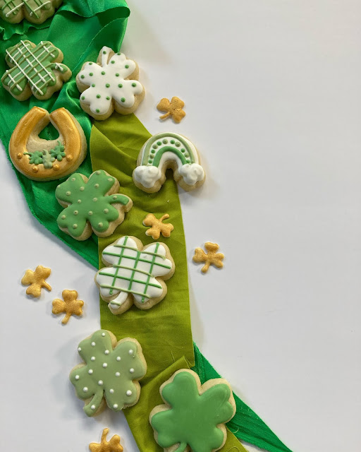 Shamrock Cookies - Sprinkle Template