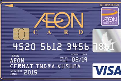 Review Kartu Kredit AEON untuk Karyawan Gaji 3 Jutaan