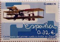 CENTENARIO DEL PRIMER VUELO A MOTOR EN ESPAÑA