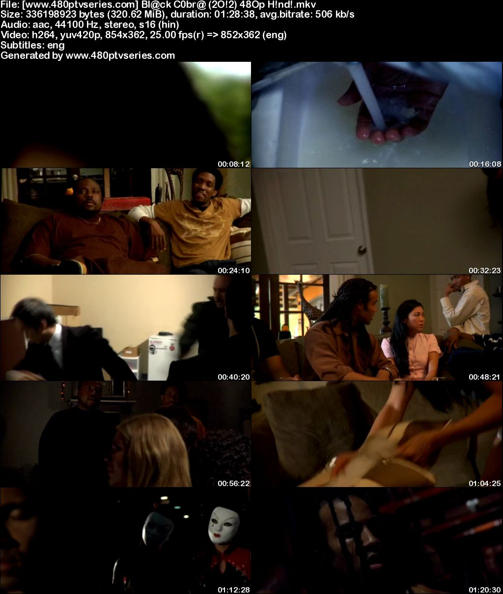 Black Cobra (2012) 300MB Full Hindi Dual Audio Movie Download 480p Bluray Free Watch Online Full Movie Download Worldfree4u 9xmovies