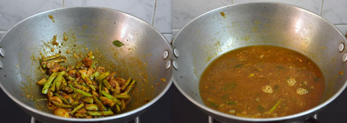 Kothavarangai Kara Kulambu recipe