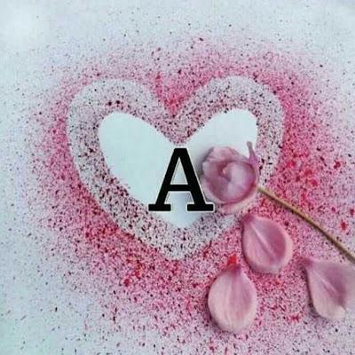 خلفيات قلوب رائعة ، اجمل صور قلوب مع حرف A