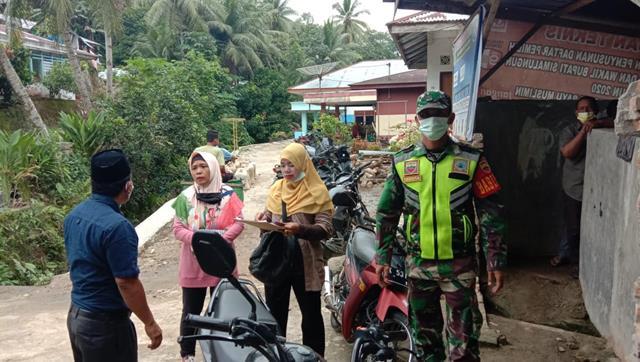 Edukasi Covid-19, Personel Jajaran Kodim 0207/Simalungun Berikan Himbauan Pada Warga Binaan