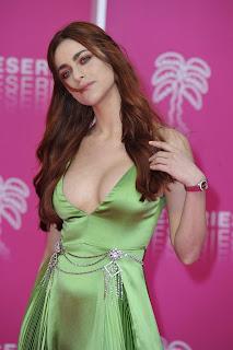 Miriam Leone Hot Cleavage Pics