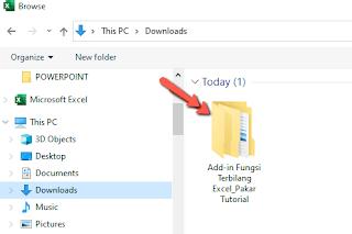 Rumus Excel Fungsi Terbilang