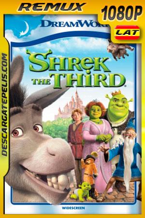 Shrek tercero (2007) 1080p BDRemux Latino- Ingles