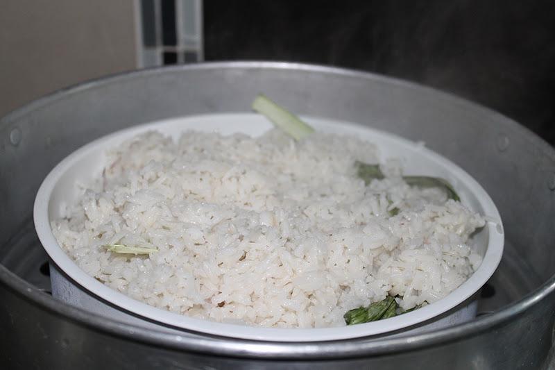 Resepi Nasi Lemak Kukus Terengganu