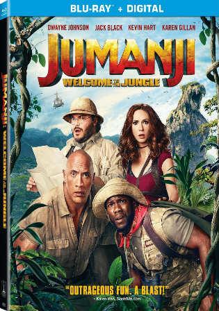 Jumanji Welcome To The Jungle 2017 BRRip 400MB Hindi Dual Audio ORG 480p Watch Online Full Movie Download bolly4u