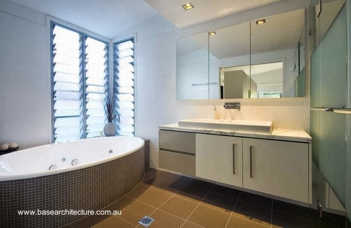 Cuarto de baño de la residencia australiana