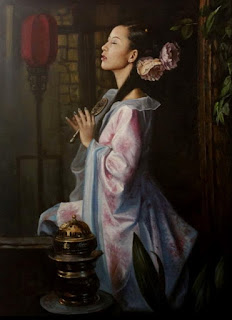sensibilidad-y-belleza-rostros-femeninos mujeres-pinturas-realistas-belleza