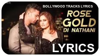 rose-gold di-nathani-song