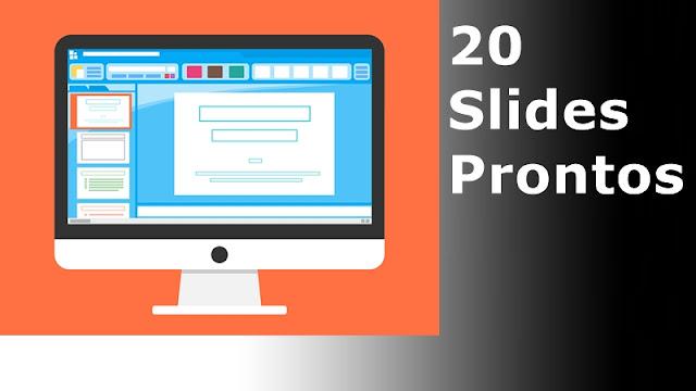 20 slides prontos tcc