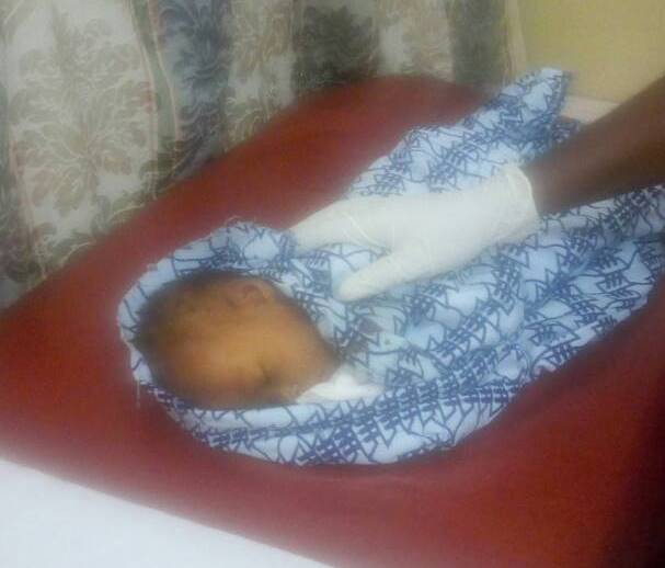 Two-month-old baby buried alive in Central Region