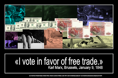 «I vote in favor of free trade» by Karl Marx