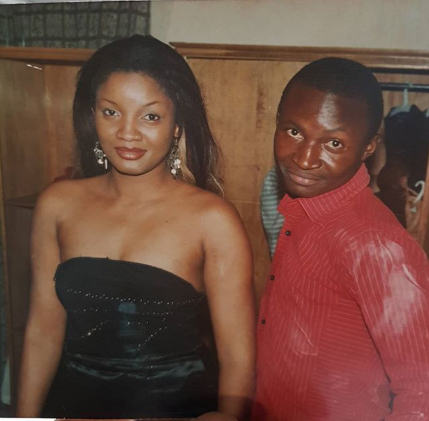 Epic throwback of Omotola and Funnybone