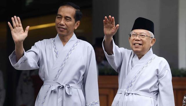 Daftar Lengkap Tim Pemenangan Jokowi-Ma'ruf Amin