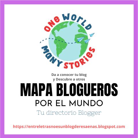 Mapa de blogueros por el mundo