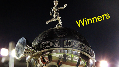 Copa Libertadores,  Final, Champions,Winners, won, by Year, country, list.