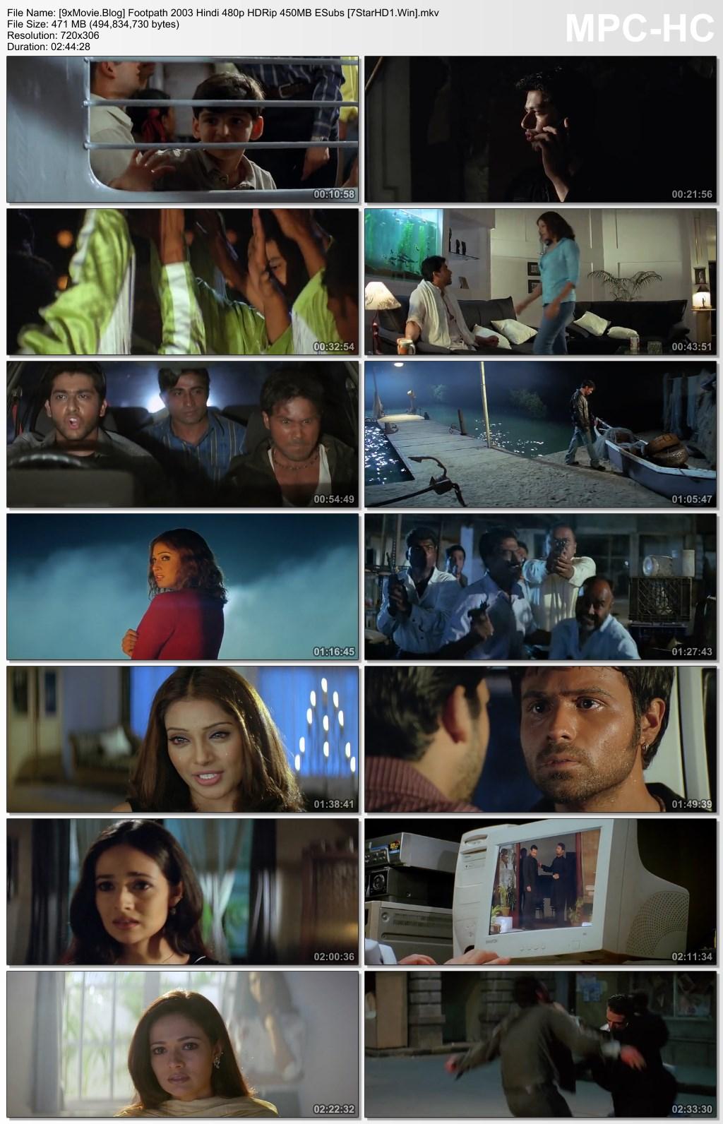 Footpath 2003 Hindi 480p HDRip x264 450MB ESubs