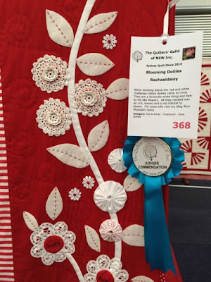 My entries for the Sydney Quilt Show