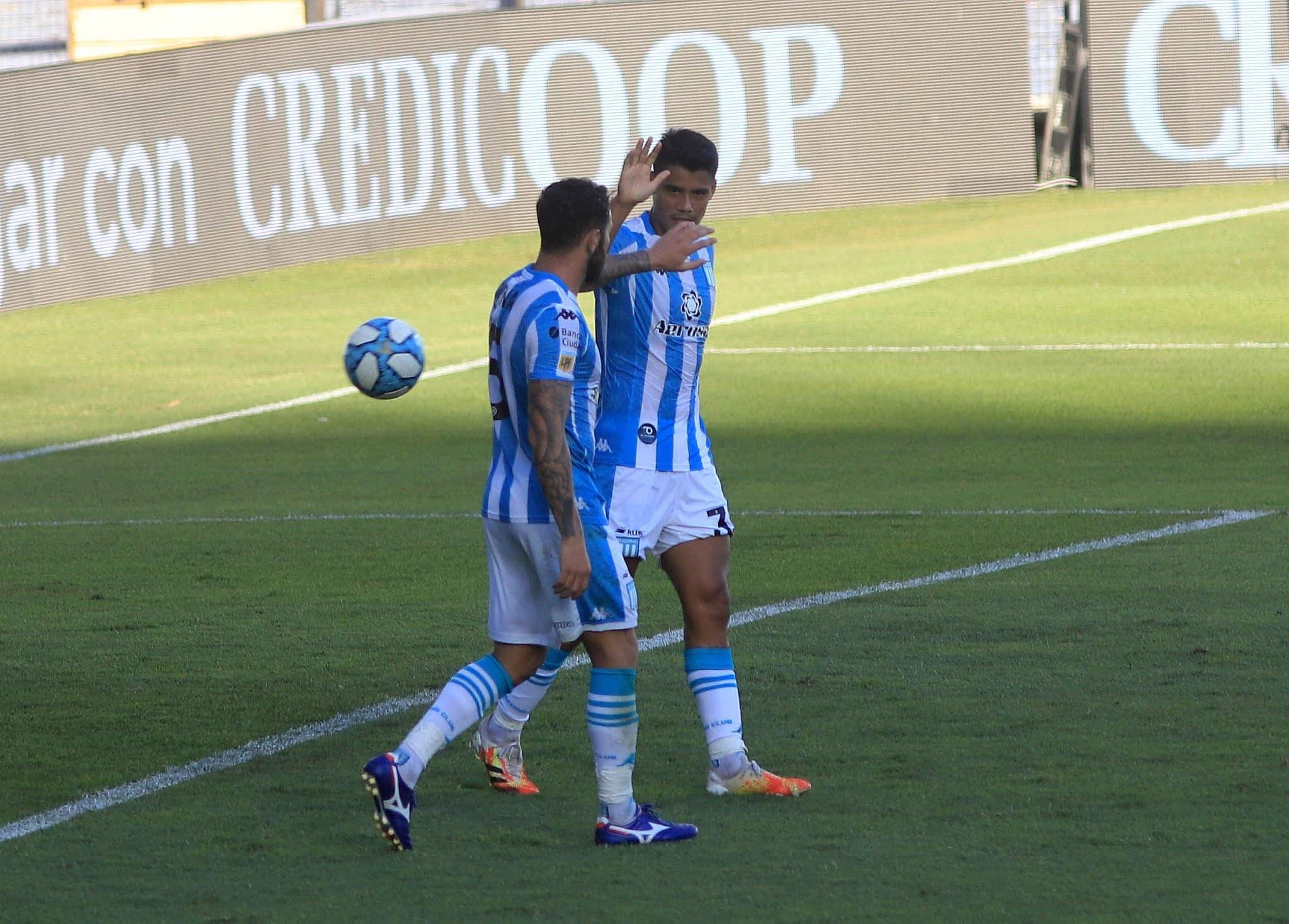 Racing goleó 6-1 a Godoy Cruz en el Cilindro de Avellaneda