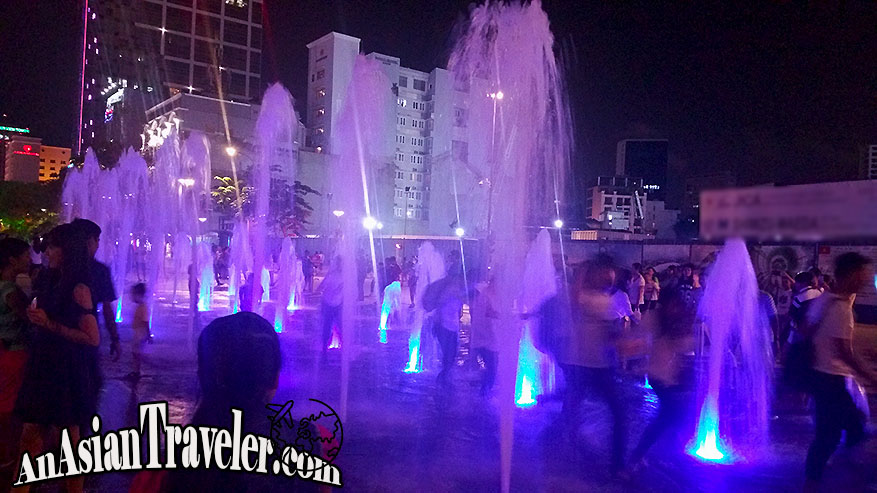 Nguyen Hue Water Fountain