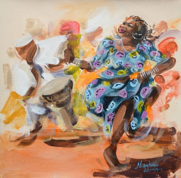 Яркие краски Африки