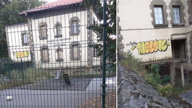 Estado del edificio del desaparecido colegio La Milagrosa