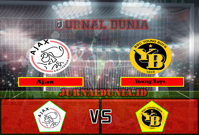 Prediksi Ajax Vs Young Boys, Jumat 12 Maret 2021 Pukul 00.55 WIB