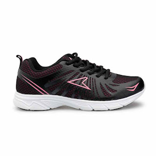 Power Speedy Myrun 10 5286169 Sepatu Wanita - Black Pink