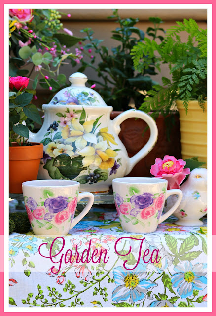 entertaining, homemaking, decor, outdoor, Spring, table, tea, athomewithjemma.com