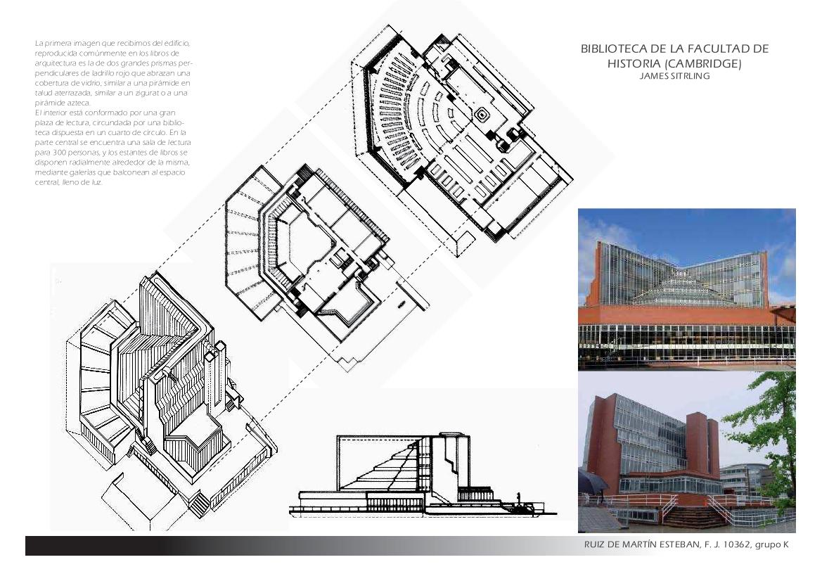 Proyectos 2 3 etsam bibliotecas kahn y stirling for Biblioteca camera dei deputati