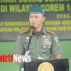 Danrem Kolonel Inf Suwarno, Gelar Acara Berbuka Puasa Bersama Dengan Aparat Pemerintah Diwilayah Korem 141/Tp