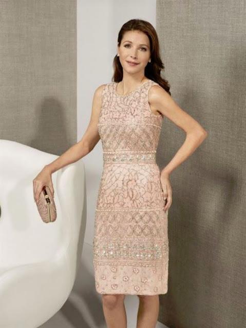 Vestidos de fiesta rosa clara 2019
