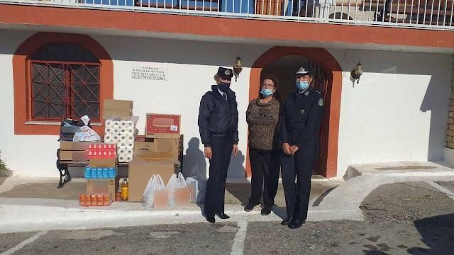 Ενίσχυση φιλανθρωπικών ιδρυμάτων από την Ελληνική Αστυνομία