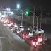 Trânsito travado na avenida Bernardo Vieira sentido Urbana