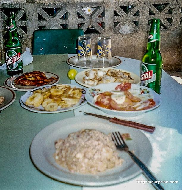 Comer em Santiago de Cuba