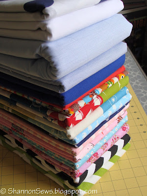 folding and storing fabric