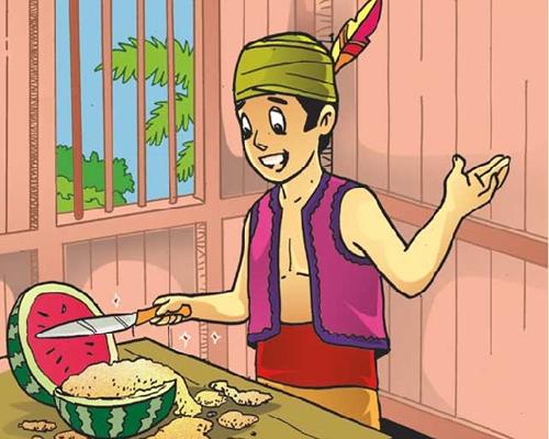 Cerita Rakyat Nusantara Semangka Emas