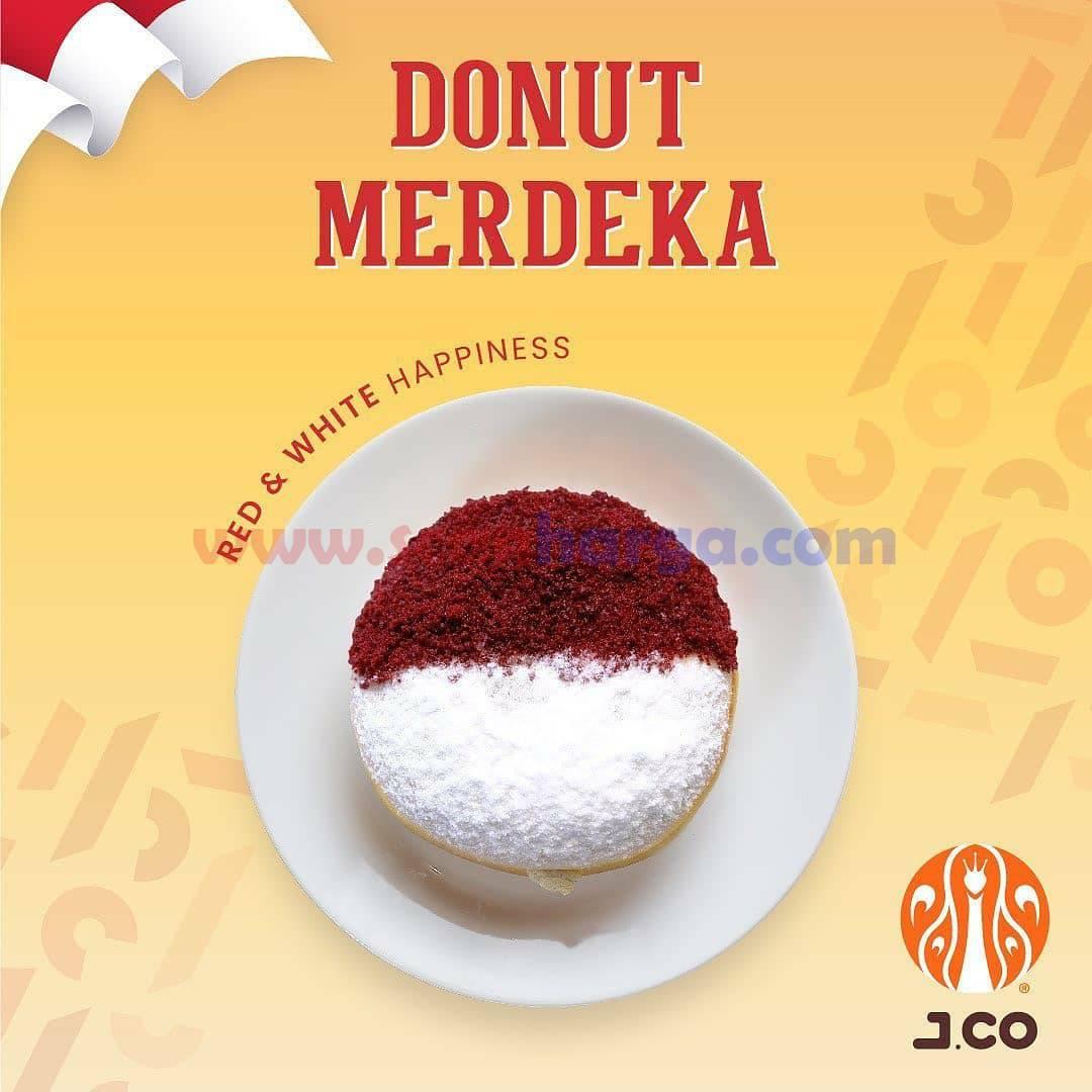 JCO Donut Merdeka Spesial HUT RI 76