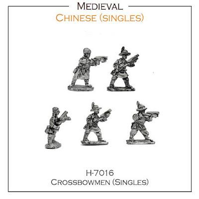 Chinese Crossbowmen SINGLES