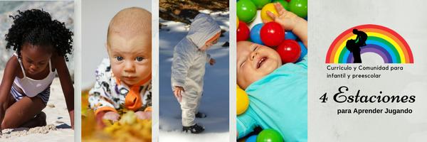 Currículo y Comunidad para infantil y preescolar, basado en juegos para estimular el aprendizaje