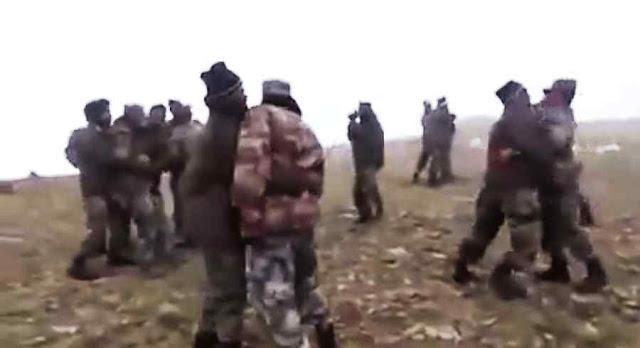 Os combates foram corpo-a-corpo e acabaram em mata-mata com armas brancas