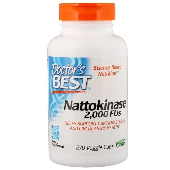 Doctor's Best, Best Nattokinase, 2,000 FUs, 270 Veggie Caps