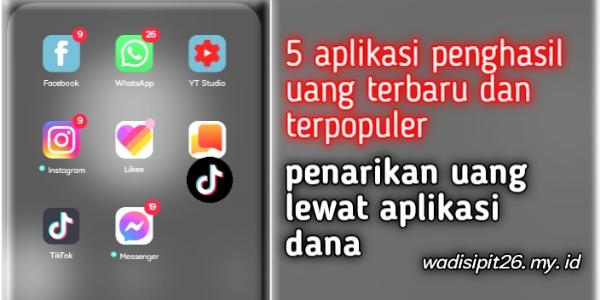5 aplikasi penghasil uang terbukti membayar langsung masuk rekening ovo  gopay