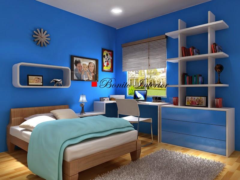 55 Dekorasi Kamar Tidur Sederhana Warna Cat Biru Minimalis Klasik Dan Modern Desainrumahnya Com