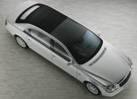 Maybach Landaulet car