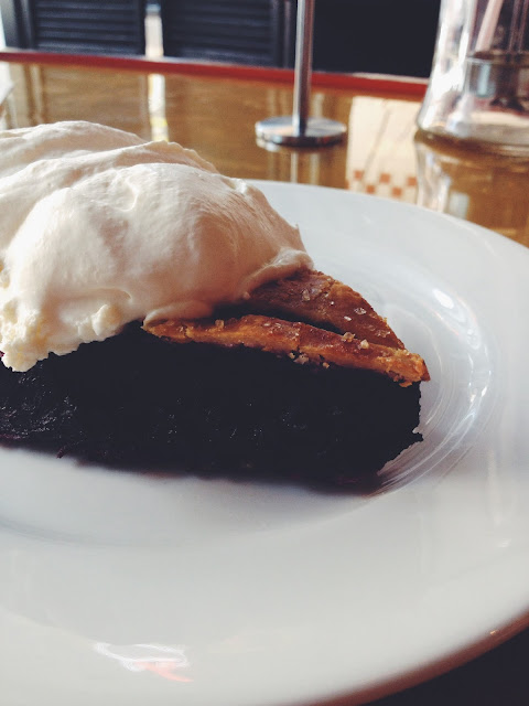 Blueberry Pie at Butter & Scotch in Crown Heights, Brooklyn