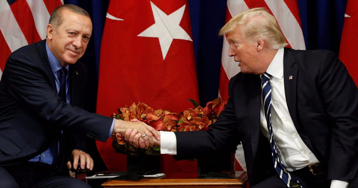 Trump Accused Of Retreating From Syria As A Result Of His Turkish Business Interests