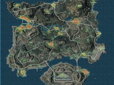 Map Erangel